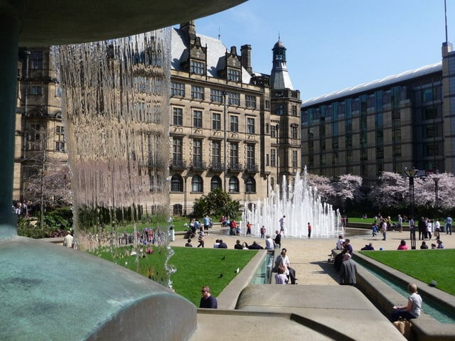 The Peace Gardens, Sheffield