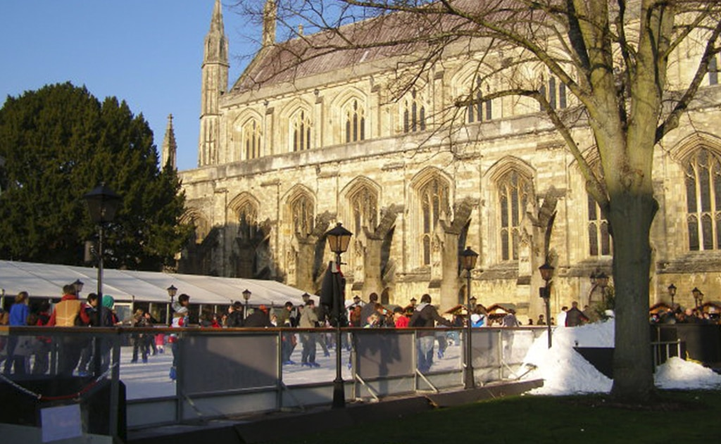 family-friendly ice rinks