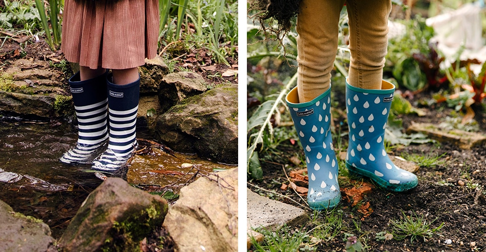How To Dress For A Muddy Walk - Peppa Pig's Muddy Puddle Walk