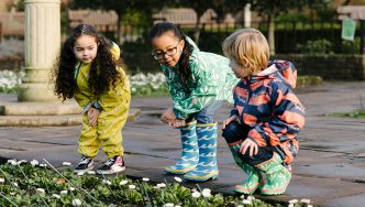 children wearing ecolight collection