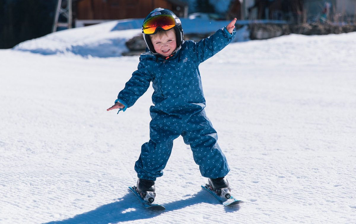 skiing with babies and toddlers